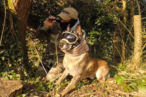 Presse k9 vision system, pour chiens et brigade canine, cyno
